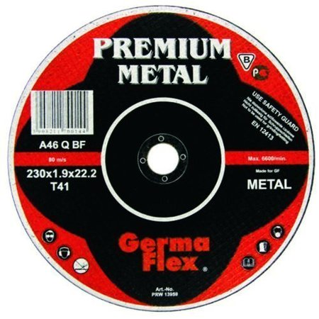 TARCZA DO CIĘCIA METALU STALI 230x1,9mm PREMIUM GERMA FLEX (1)